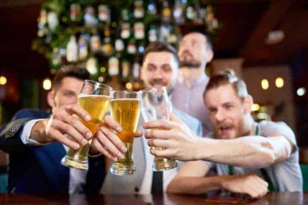 Ly thủy tinh uống bia luminarc
