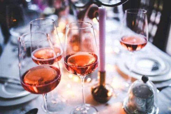 Ly thủy tinh uống rượu luminarc